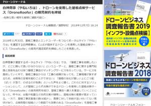 (日本語) 「やねいろは」がドローンジャーナルに取り上げられました